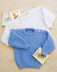 PT8203 - Toddler's Twisted Rib Jumper - 4 Ply