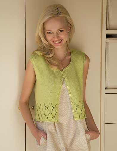 PT8252 - Sleeveless Vest - 8 Ply Cotton