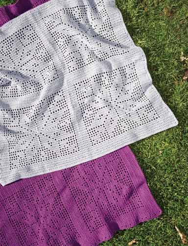 PT8420 - 8 Ply Crochet Blanket Pattern