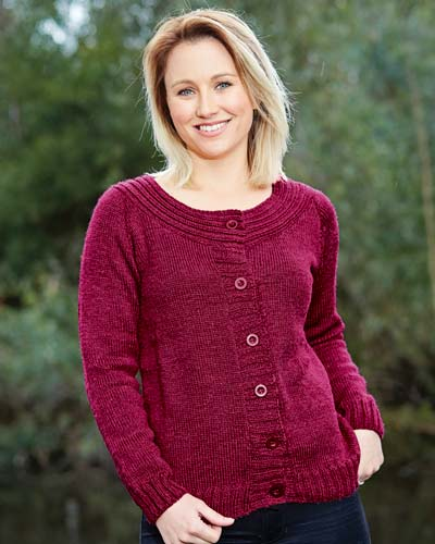 PT8438 - Ladies cardigan - 8 Ply