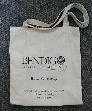 Bendigo Woollen Mills Calico Bag
