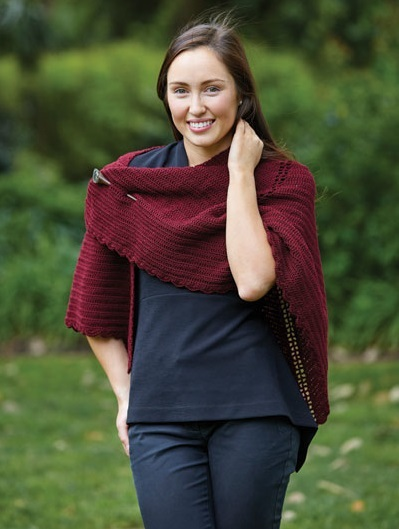 PT8463 - Crochet Shawl - 4 Ply