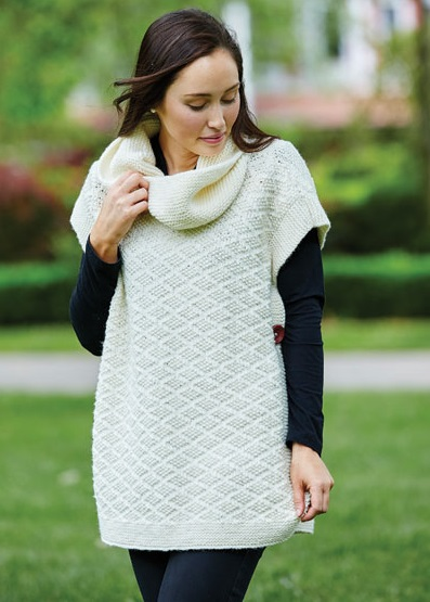 PT8464 - Buttoned Poncho - 10 Ply