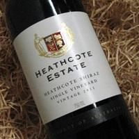 Heathcote Estate Single vineyard Shiraz 2015 375ml
